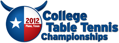 2012 College Table Tennis Championships