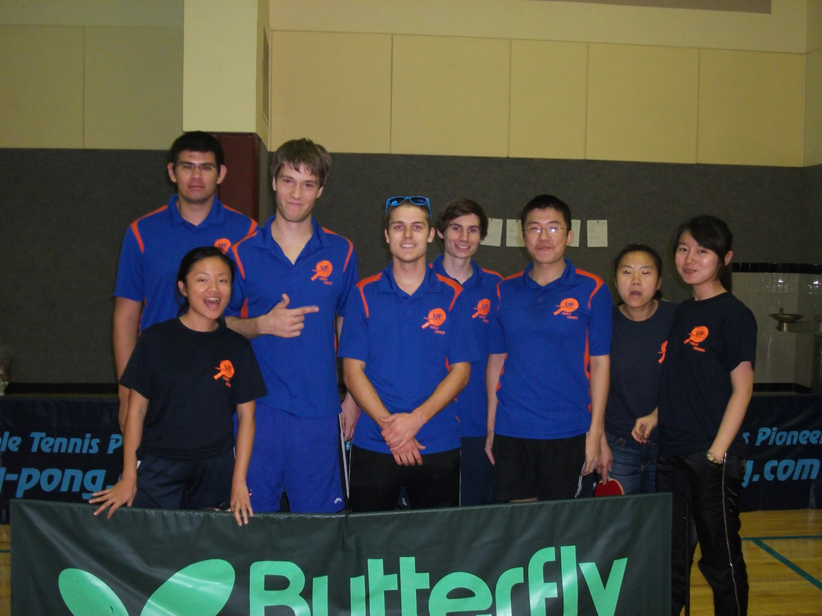 University of Florida Table Tennis