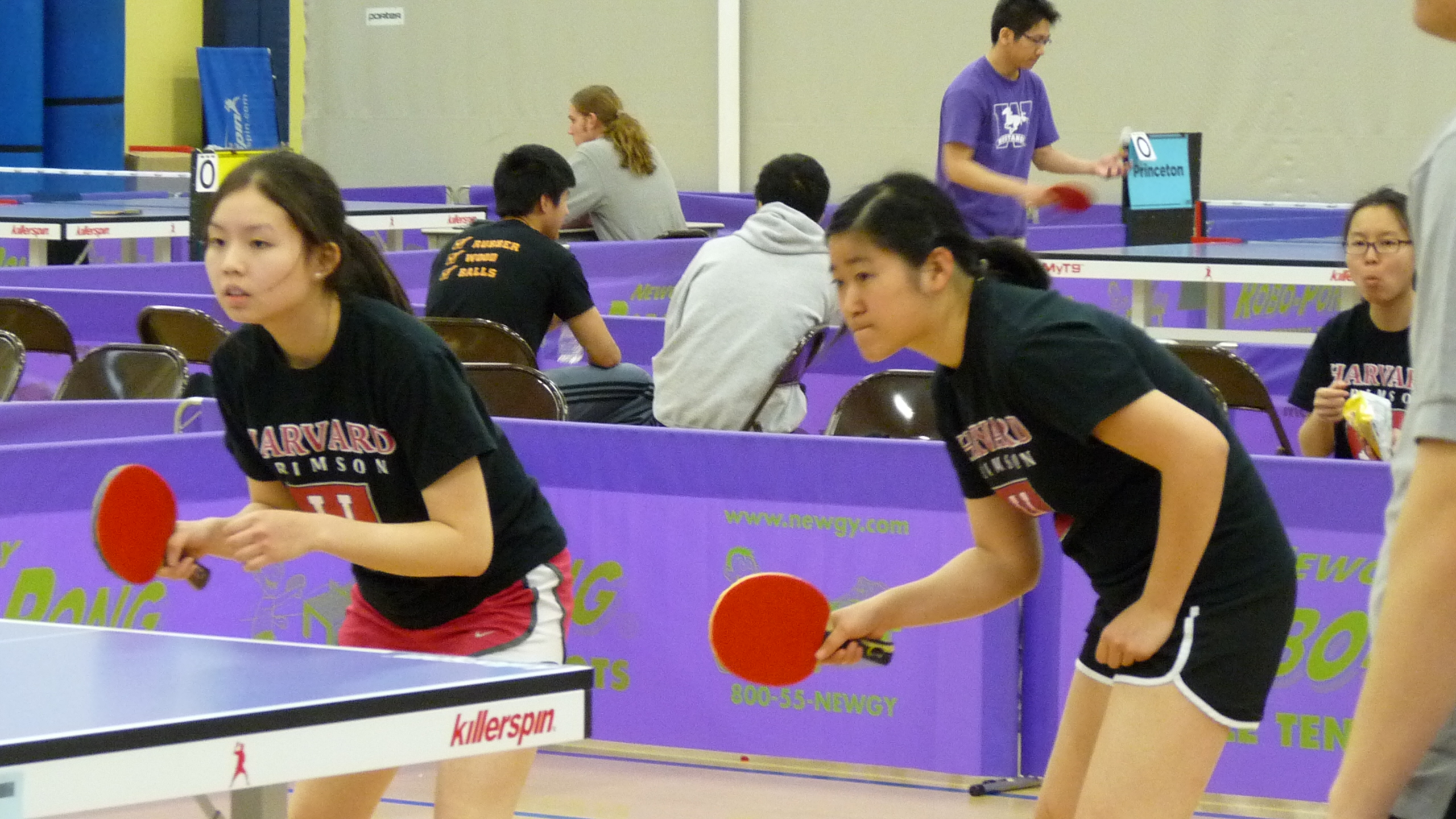 Harvard Women's Doubles